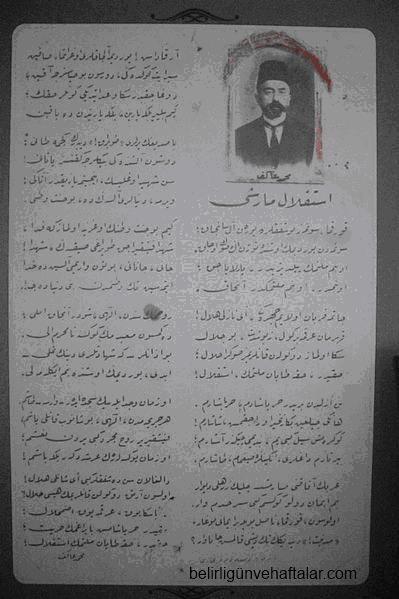 İstiklalMarşı-Osmanlıcası