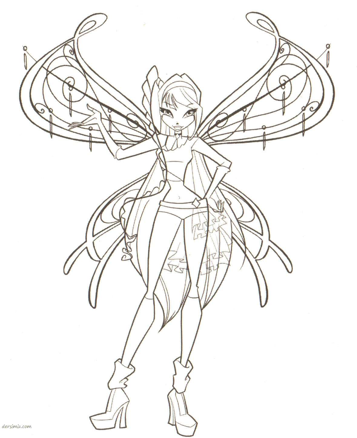 Winx Club Season 7 Coloring Pages