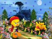 Tweety And Pooh Puzzle